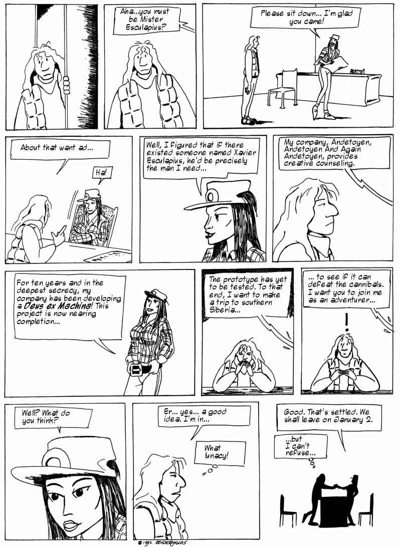 Esculapius, Page 2